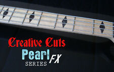 Diamond BLACK PEARL Fretboard Markers Inlay Sticker Decals for Maple Neck BASS