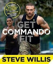 GET COMMANDO FIT BY STEVE WILLIS, LIKE NEW, FREE SHIPPING WITH ONLINE TRACKING