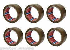 6x TESA Ruban d'emballage marron 50mm x 66m Paquet-bande film adhésif Lot De 6