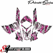 *NEW* SLED GRAPHIC KIT GRAPHICS WRAP FOR SKI-DOO REV XR 1200 2009-2012 xr0004