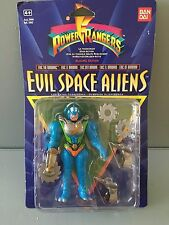 Power Rangers Evil space aliens Eric the Barbaric new in original packaging