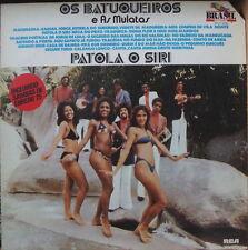 OS BATUQUEIROS E AS MULATAS PATOLA O SIRI SEXY CHEESECAKE COVER FRENCH LP