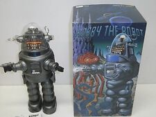 Robby Robot w Blaster Japan Osaka Tin Toy Institute 1998  Battery Operated MIB!