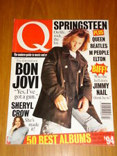 Q MUSIC MAG 101 FEB 1995 SPRINGSTEEN QUEEN BEATLES CROW