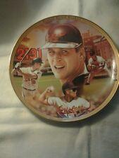Baseball plate  cal ripken