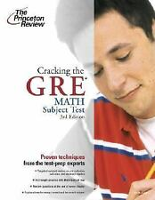 Princeton Review Cracking the GRE Math Test: Cracking the GRE Math Subject...