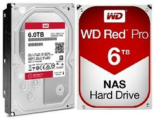 WD Red Pro 6TB NAS Desktop Hard Drive Intellipower 6 GBs 128 MB Cache WD600