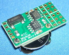 Real Time Clock (RTC) module for Raspberry Pi with no header fitted