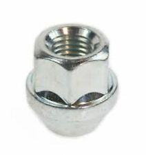 1 x M12X1.5 OPEN ALLOY WHEEL NUT NUTS CHROME SILVER steel