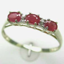 GORGEOUS .60CT GENUINE RUBY & DIAMOND RING - SALE ENDS SOON!