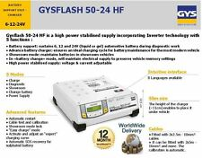 GYS FLASH 6 12 24V BATTERIA CARICABATTERIE supporto unità HIGH POWER INVERTER TECHNOLOGY