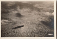 N°158 Siberia Siberie Forest Taiga ZEPPELIN Dirigible AIRSHIP CARD IMAGE 30s