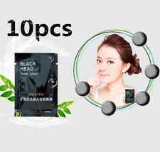 10pc Blackhead Remover Nose Mask Black Mud Skin Deep Cleansing Acne Treatment Mo