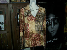 JESSICA MAX Sweet Long Sleeve Blouse Size XL