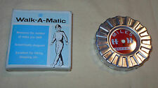 Vtg 50's Walk-A Matic Miles Walking Measuring Tool Franciscan Crafter New In Box