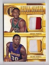 2014-15 Gold Standard Jabari Parker Julius Randle Newly Minted Dual Patch Rc /25