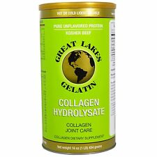 Great Lakes Gelatin Co., Collagen Hydrolysate, Collagen Joint Care, Beef, 16 oz