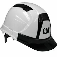 Caterpillar Cat Hard Hat White Ratchet Suspension 23407