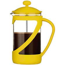 GIALLO Kenya 4 tazza di vetro Infusiera caffè resistente al calore 600ml TAZZE Moderno Nuovo