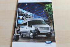 131989) Ford Transit - Personentransport - Prospekt 07/2012