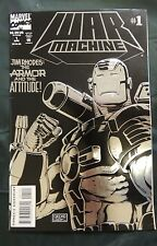 War Machine #1 (Apr 1994, Marvel) Embossed Foil Collectors Edition Comic Book