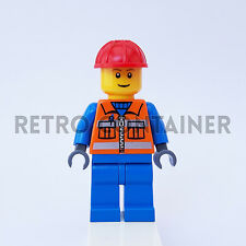 LEGO Minifigures - 1x cty009 - Construction Worker - Omino Minifig Set 7246