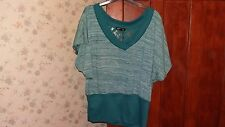 """One step up"" ladies jumper,green,size XL, used"