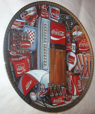 The Eras of Coca Cola Numbered Edition Collectors Plate #135 Free Shipping U.S.A