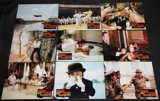 1974 James Bond 007 Man with the Golden Gun Lobby Cards 8pc Roger Moore (German)