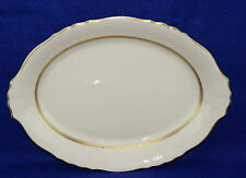 """Syracuse Old Ivory Federal Cornwall Oval Serving Platter 14 1/8"""" x 10 1/2"""""""
