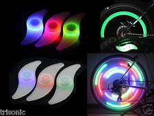 3x Colors Set Bike Bicycle Cycling Car Wheel Spoke Tire Wire Tyre LED Light Lamp