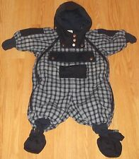 Baby Schneeanzug/Winteranzug Gr. 56 (1-2 Monate)  von H&M