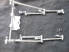 6x2 STRAIGHT BALL  LINKAGE  FOR  HOLLEY 94 CARBS   HOT ROD  FLATHEAD  (OUR BEST)