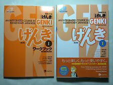 Genki 1: An Integrated Course in Elementary Japanese *BOTH* TEXT & WORKBOOK *NEW