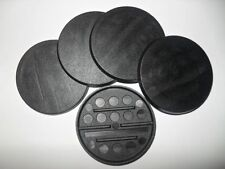 20 (Twenty) 50mm Round Bases for Wargaming and Roleplaying NEW