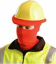 OccuNomix RED Knitted Tube Full Face Liner for Safety Hard Hat 100% Polyester