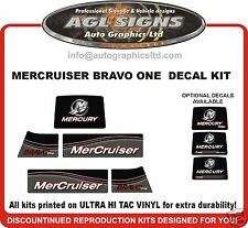 Mercruiser Bravo One  Outdrive Decal Kit reproductions mercury   Diesel Azius