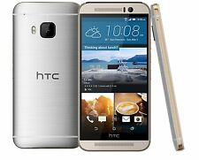 AT&T HTC One M9 4G LTE UNLOCKED WORLDWIDE Android 32GB Phone Gold/Silver  Fair