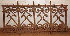 44cm Grille Fenetre Fer Forgé Ancien Maroc Antique Iron Window Morocco Africa