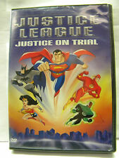 Justice League DVD Justice on Trial 2003 Warner Brothers Blackest Night Enemy
