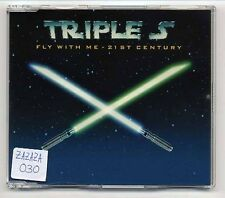 Triple S Maxi-CD Fly With Me - 21st Century - 4-track - star wars john williams