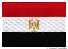 EGYPTIAN NATIONAL FLAG PATCH EGYPT ARAB REPUBLIC EMBLEM embroidered iron on NEW
