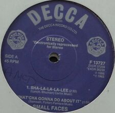 "HB3 - Small Faces Sha-la-la-la-lee F 13727 UK 7"" in neutral sleeve purple decca"