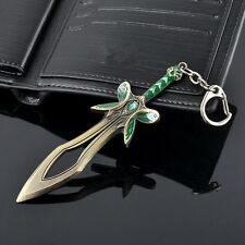 Retro Dota 2 Keychain Alloy The Butterfly Sword Key ring Keychain Cosplay Gift