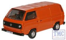 76T25004 Oxford Diecast 1:76 Scale OO Gauge Brilliant Orange VW T25 Van