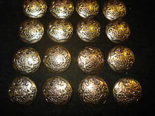 16ps  BLAZER  ANTIC-GOLD   METAL  BUTTONS  PERFECT  FOR  JACKET  SUIT  COAT