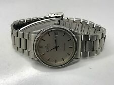 OMEGA SEAMASTER AUTOMATIC QUICKSET UNISEX SS WATCH