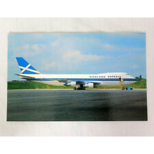 Highland Express Airways - Boeing 747-123 -  Aircraft Postcard - Good Quality
