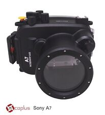 [Mcoplus] Underwater Case of Sony Alpha7 A7 A7S A7R 40m 130ft Housing Waterproof