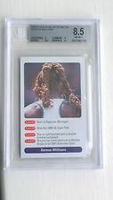 Serena Williams ROOKIE Card - A Question of Sport 2002 BGS 8.5 - Near Mint/Mint